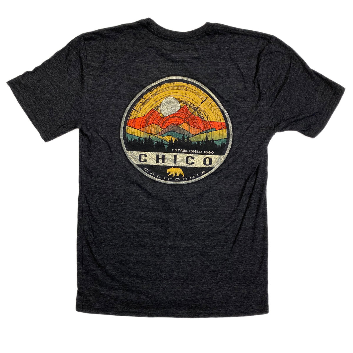 Epoch Mountain Chico T-Shirt Back View
