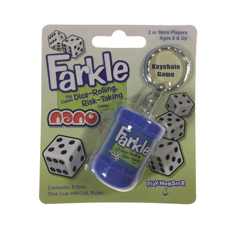 Farkle Nano Keychain Game