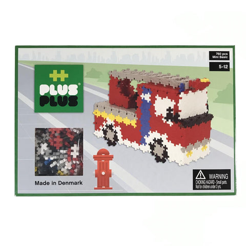 Fire Truck 760 piece set