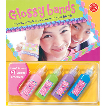 Glossy Bands by Klutz