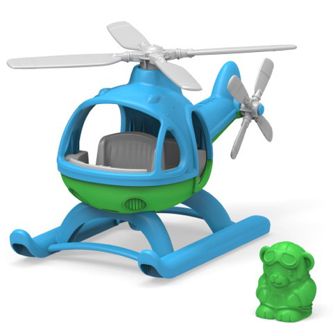 Green Toys Helicopter - Blue