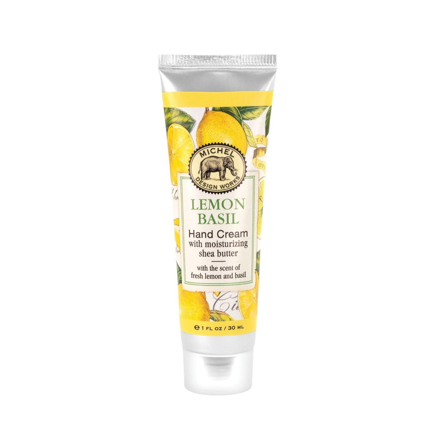 Lemon Basil Hand Cream with Shea Butter 1oz