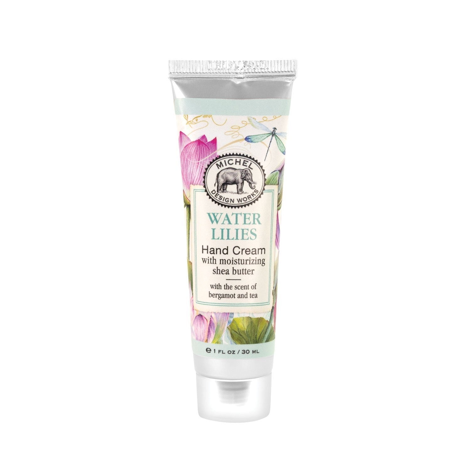 Water Lilies Hand Cream with Shea Butter 1oz