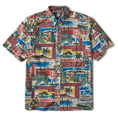Hawaiian Christmas 2018 Camp Shirt