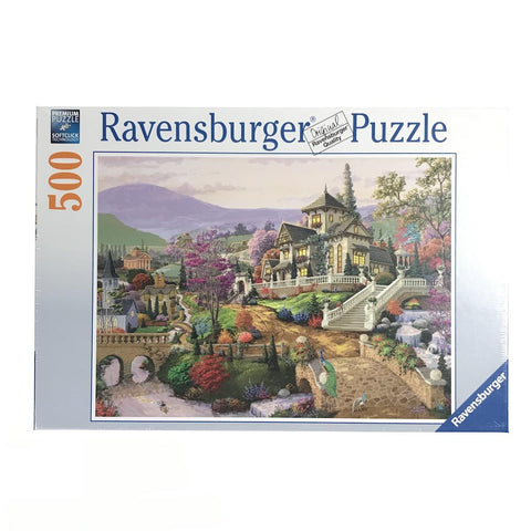 Hillside Retreat 500 piece puzzle