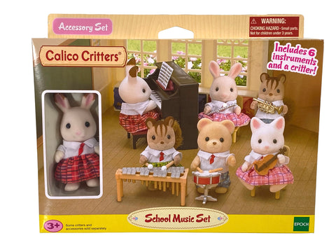 Calico Critter School Music Set