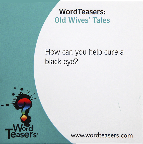 Word Teasers Old Wives Tales