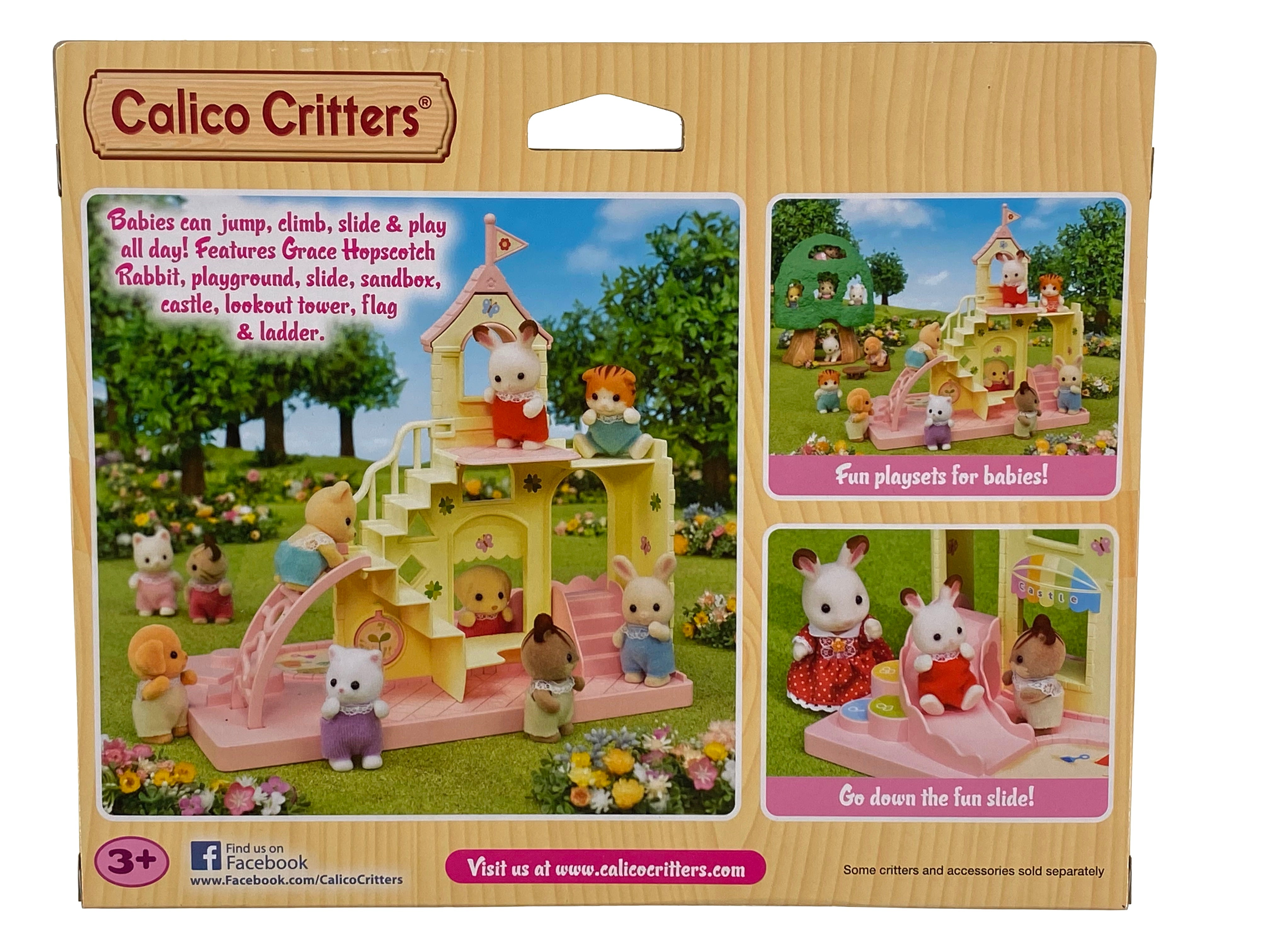 Calico Critter Baby Castle Playground