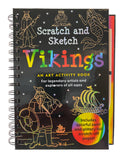 Scratch And Sketch Vikings