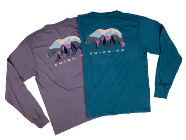 Hitchhiker Bear Long Sleeve T-shirt