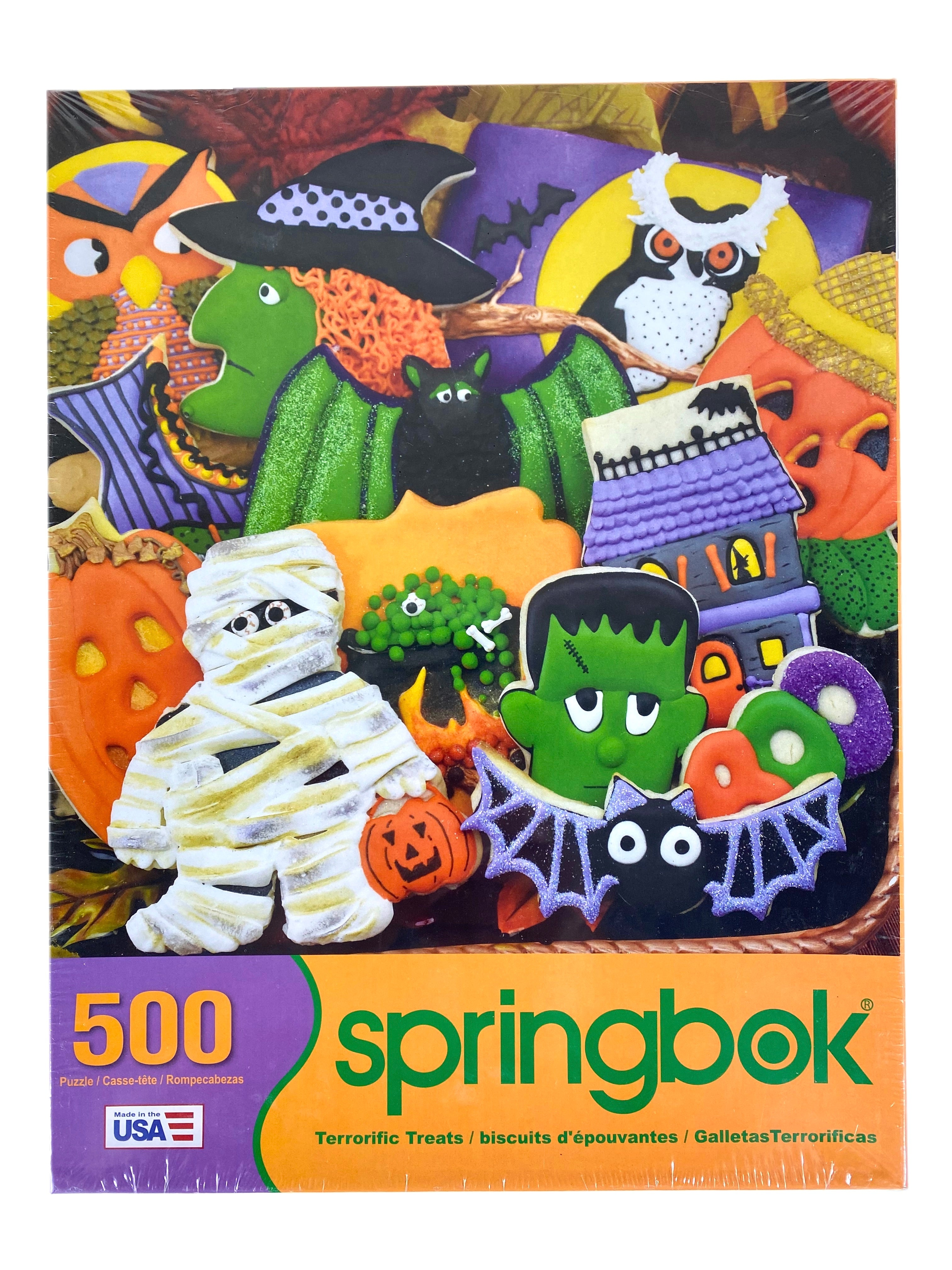 Terrorific Treats 500 Piece Puzzle