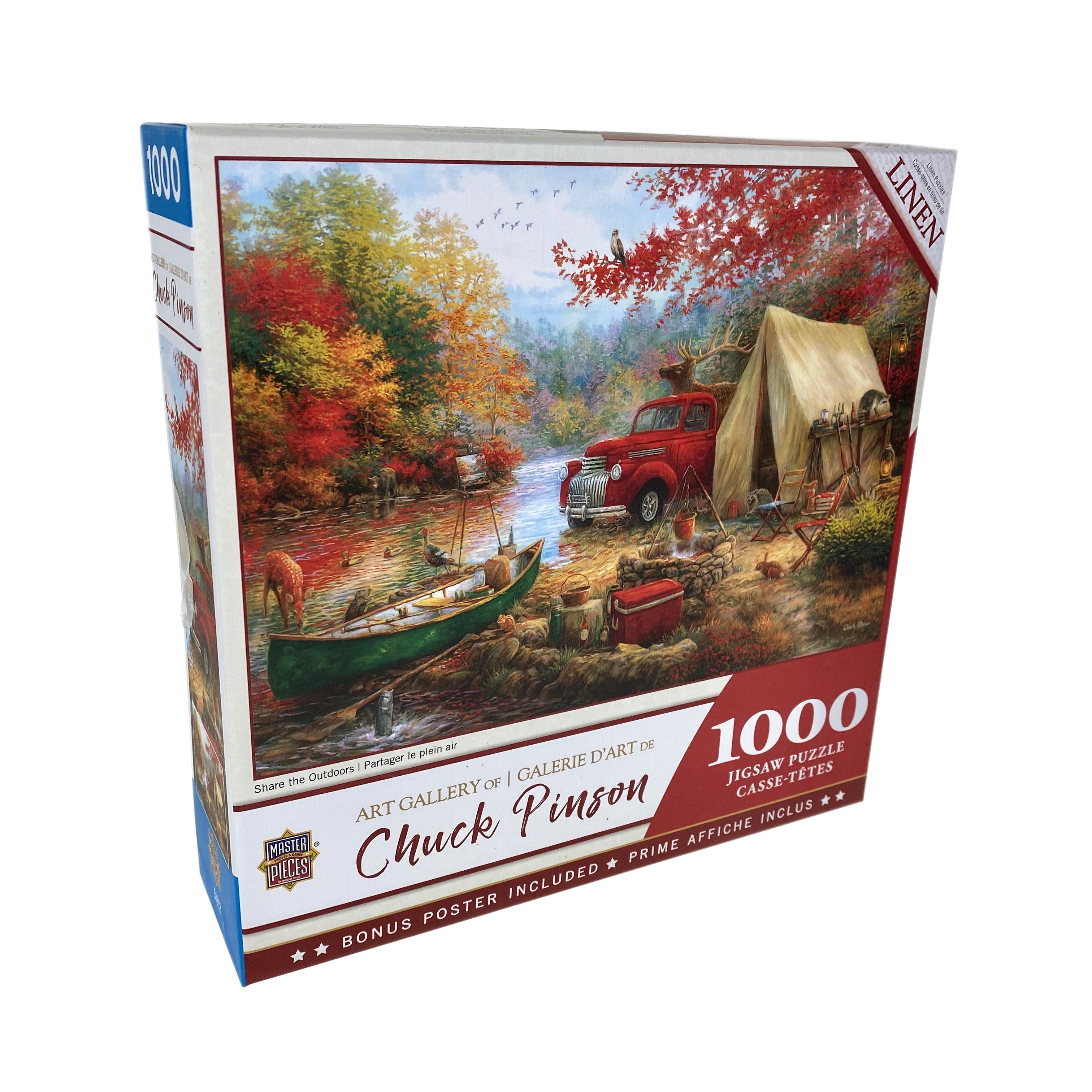 Share The Outdoors 1000 Piece Chuck Pinson Puzzle