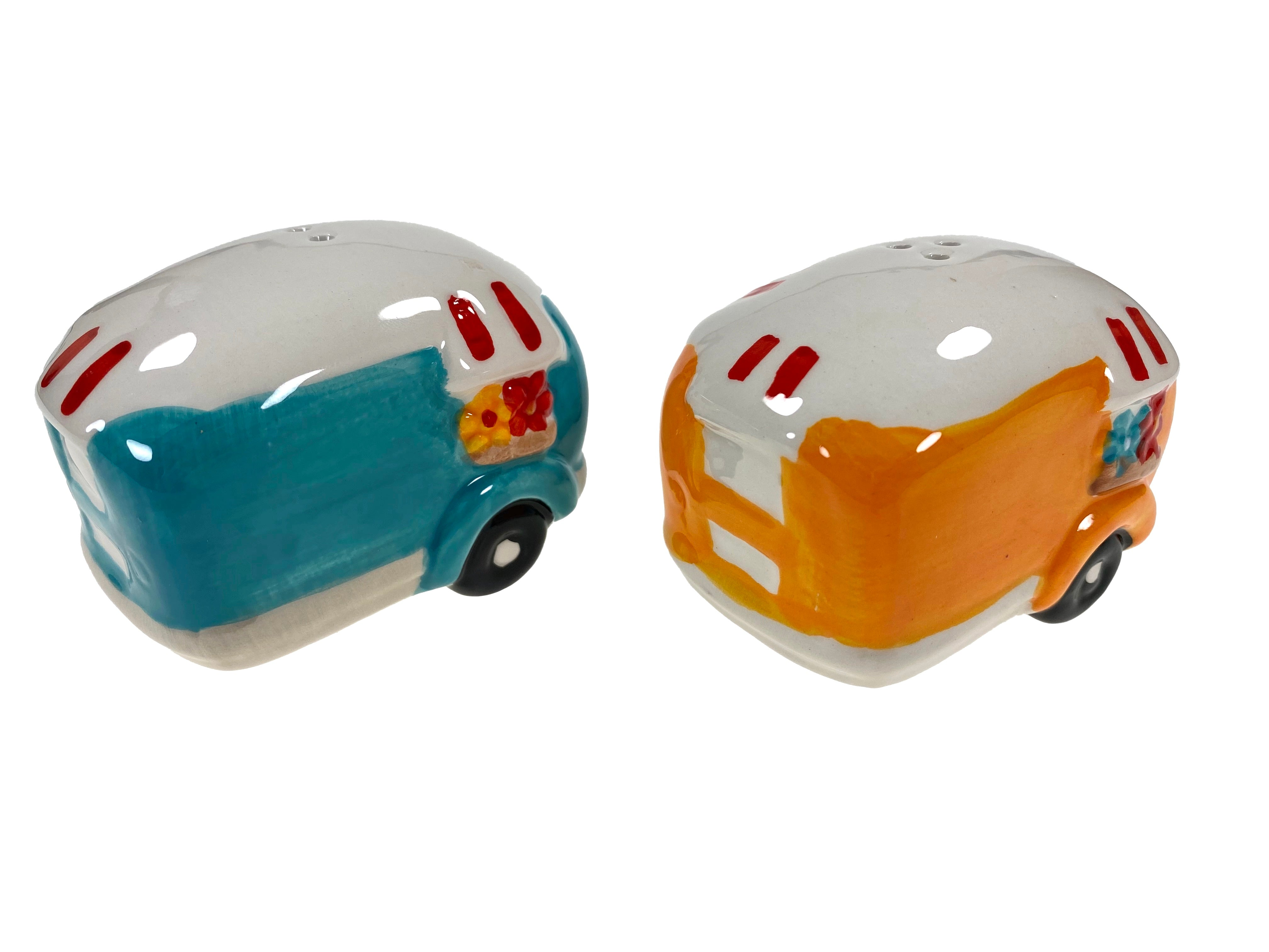 Camping Trailer Salt And Pepper Shakers