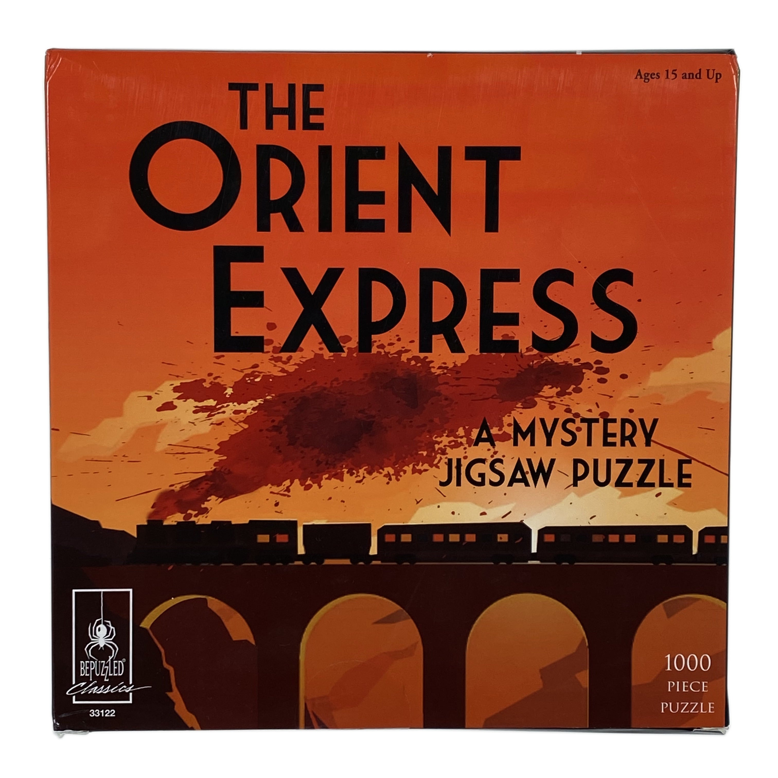 The Orient Express 1000 Piece Mystery Puzzle