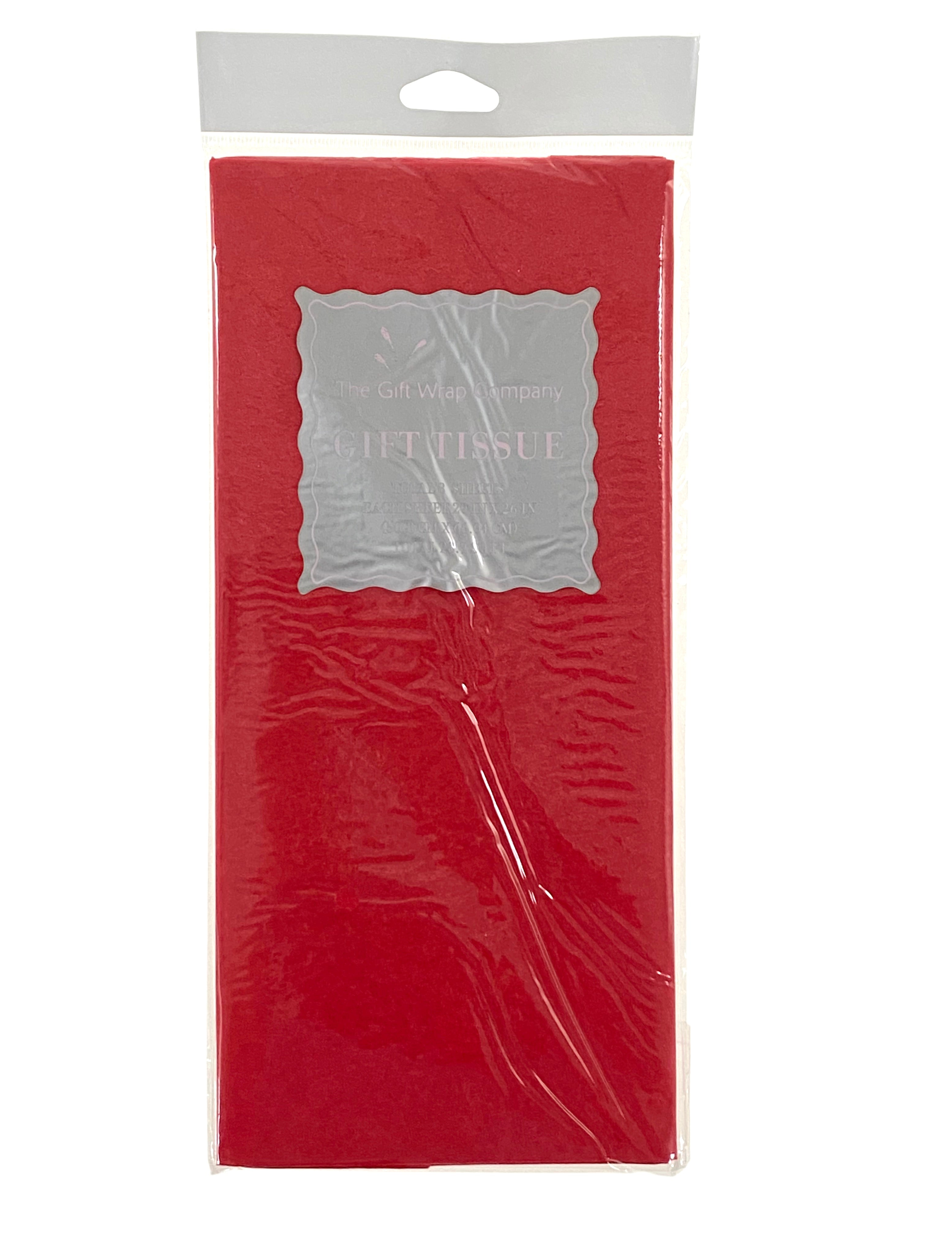 Tissue Paper - Solid Red