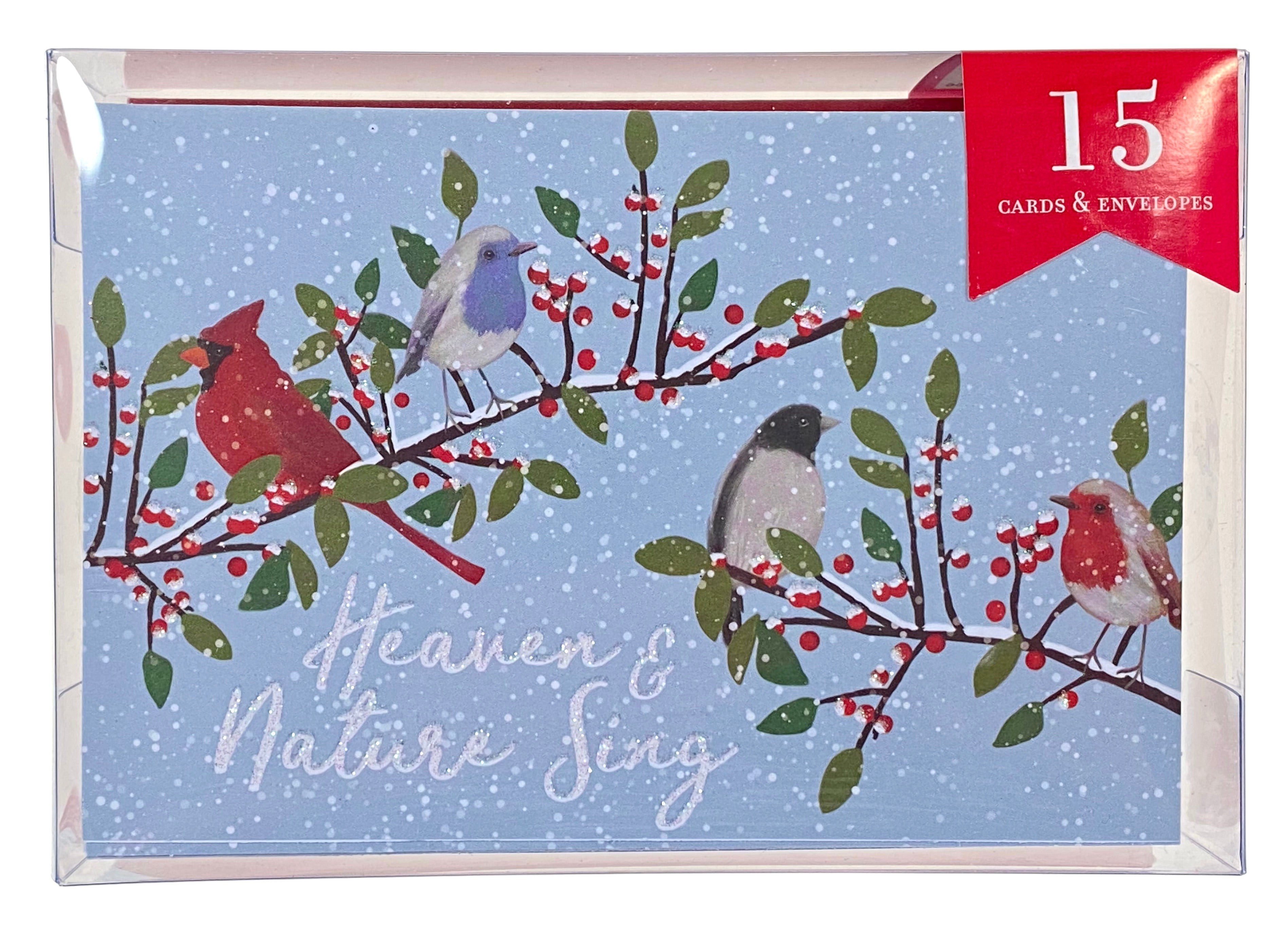 Boxed Christmas Cards - Winter Song Birds