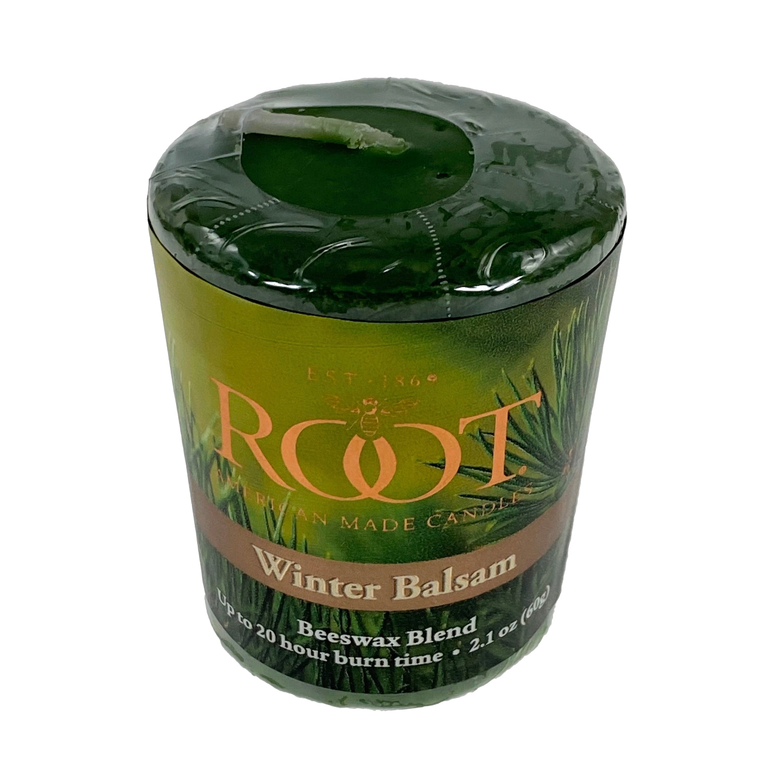 Root Candles Votive - Winter Balsam