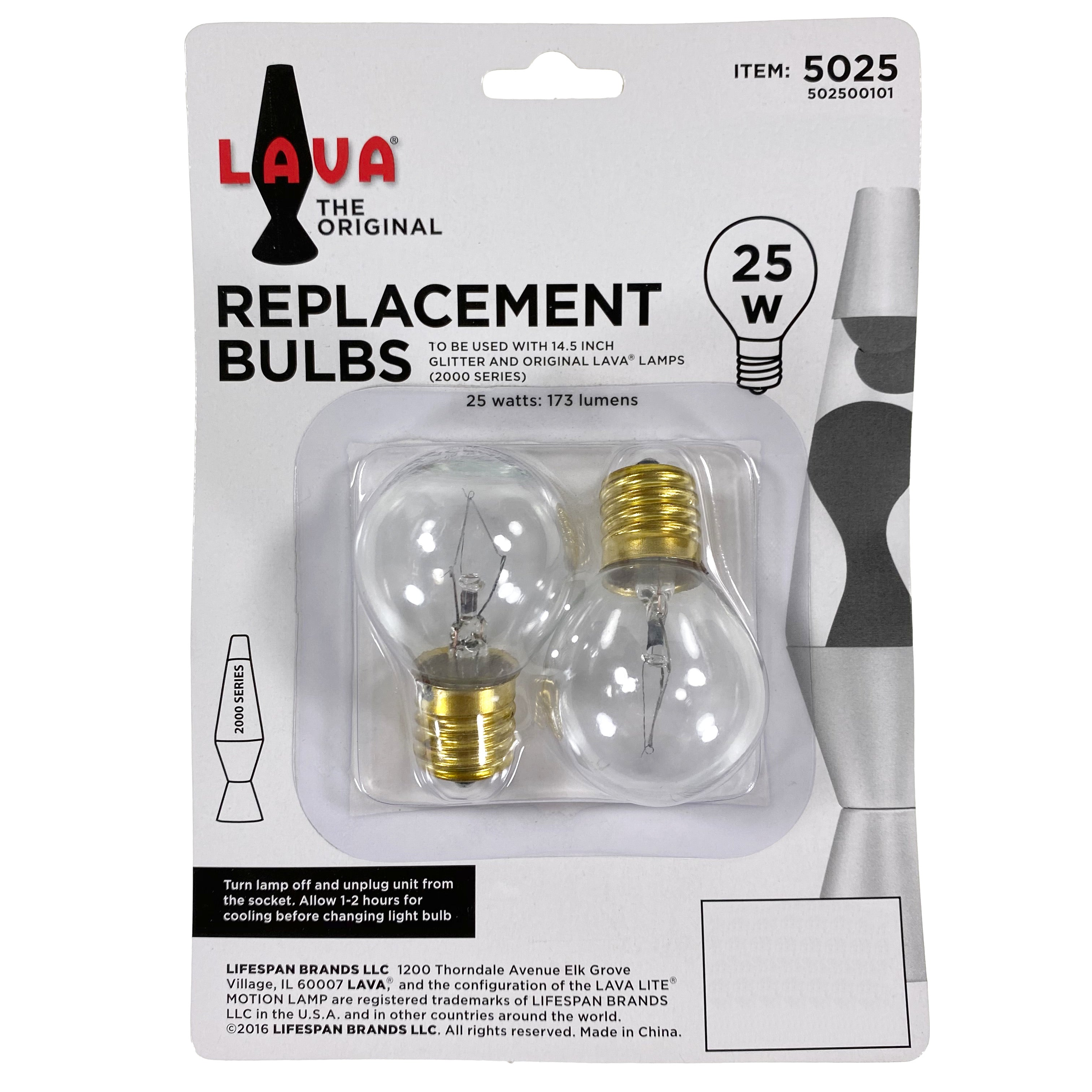 "14.5"" Lava Lamp - Replacement Bulbs"