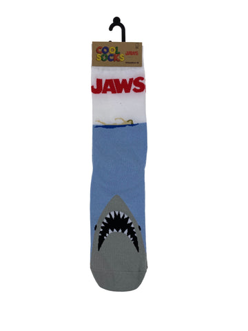 Cool Socks Mens Crew Jaws Swimmer