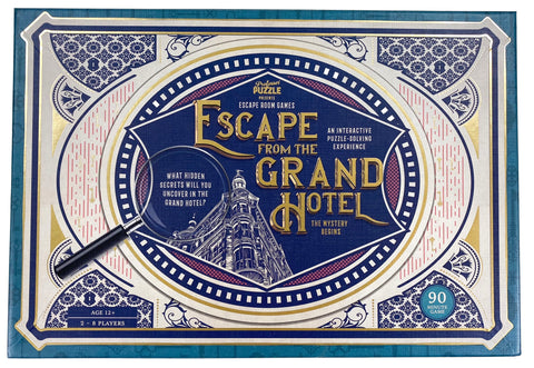 Escape From The Grand Hotel - The Mystery Begins