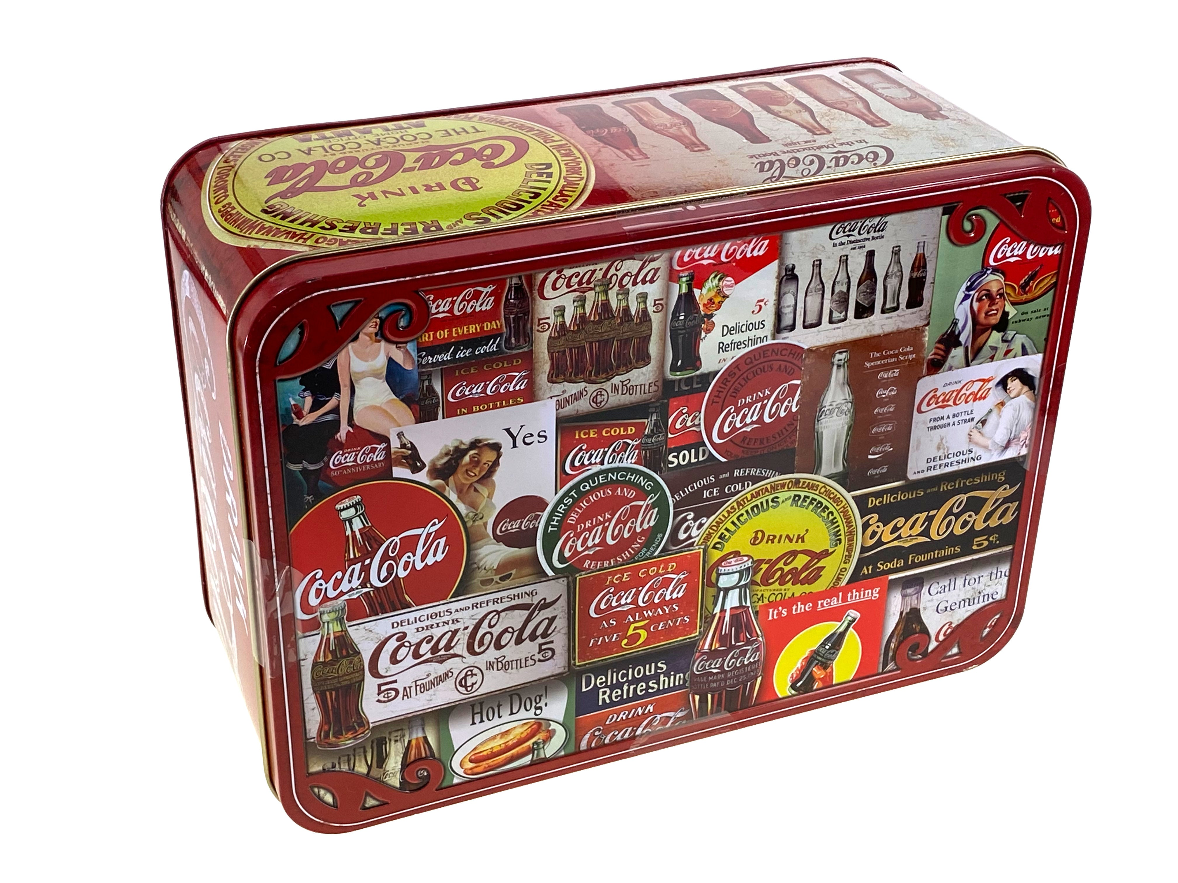 Coca-Cola Tin Signs 1000 Piece Puzzle in Collectors Tin
