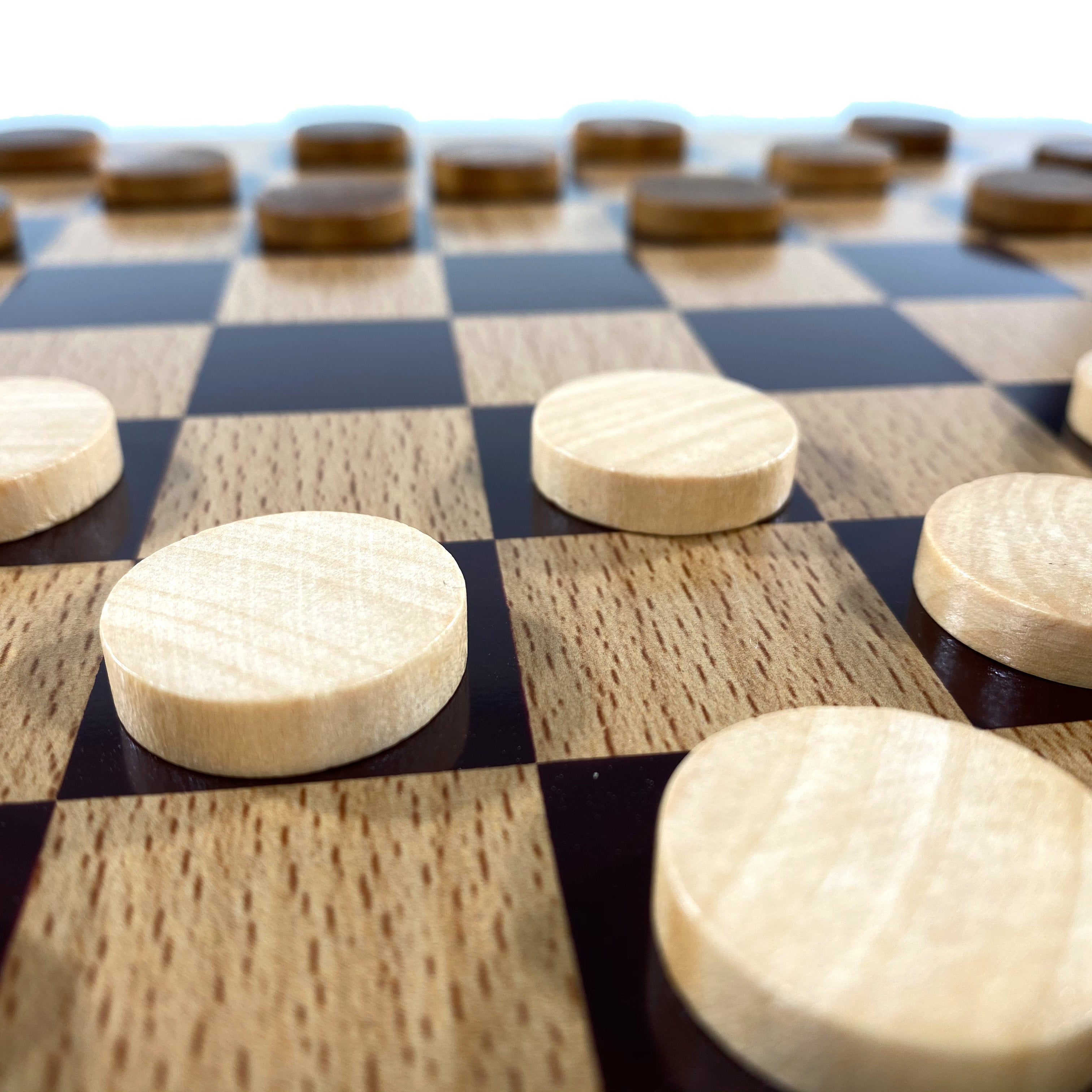Classic Wooden Game - Checkers