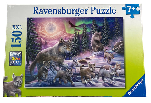 Northern Wolves 150 Piece Puzzle