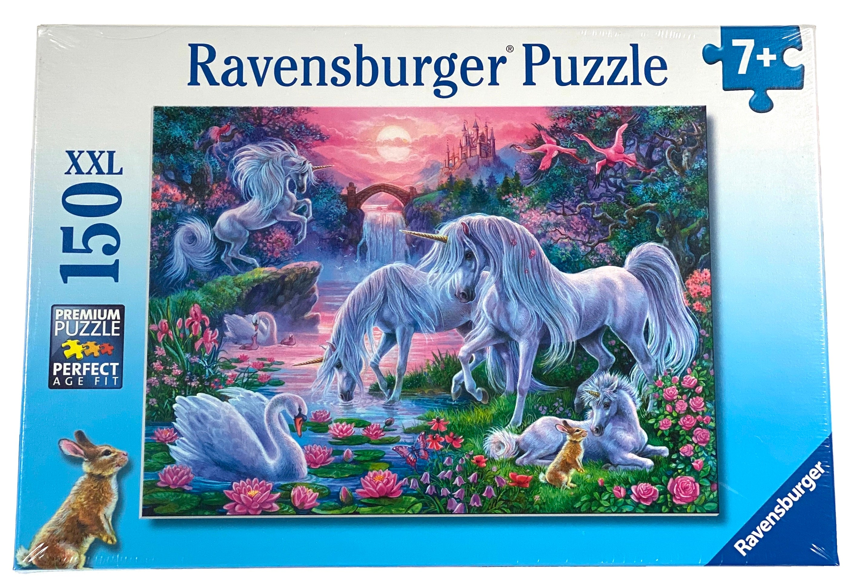 Unicorns in the Sunset Glow 150 Piece Puzzle