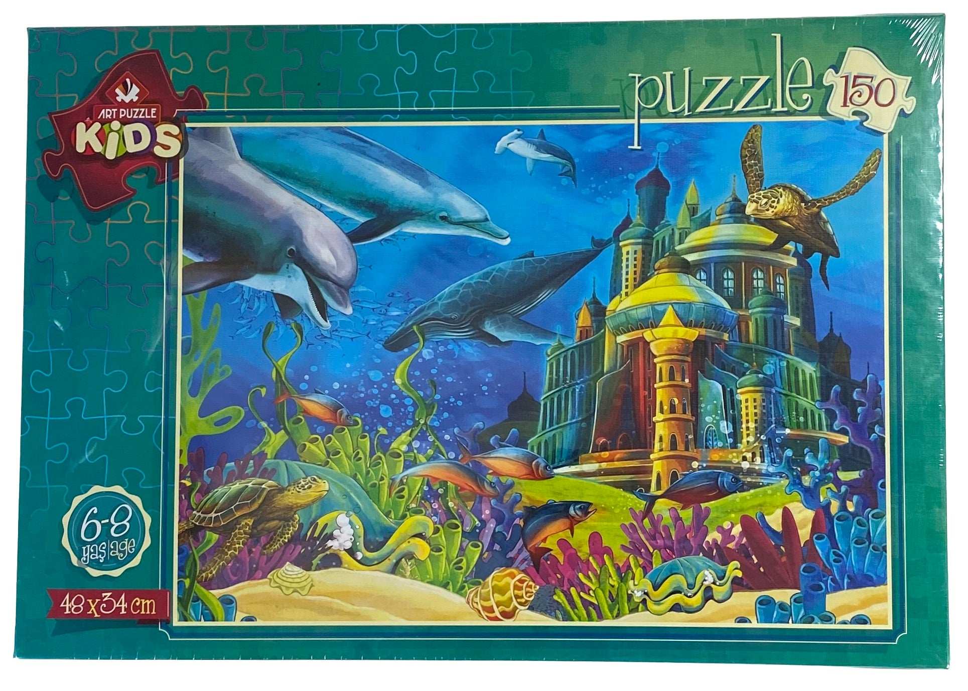 The Underwater Castle 150 Piece Puzzle