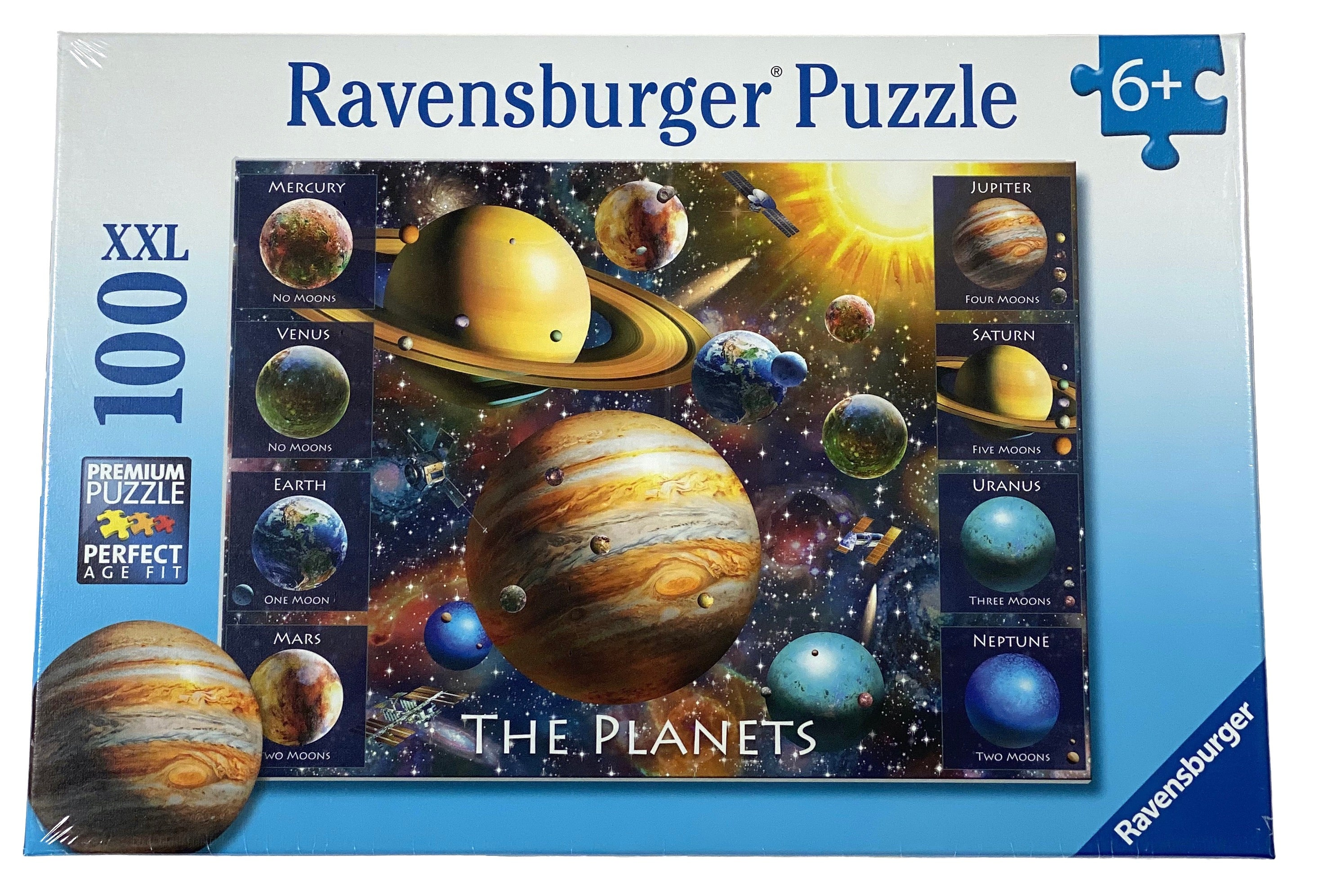 The Planets 100 Piece Puzzle