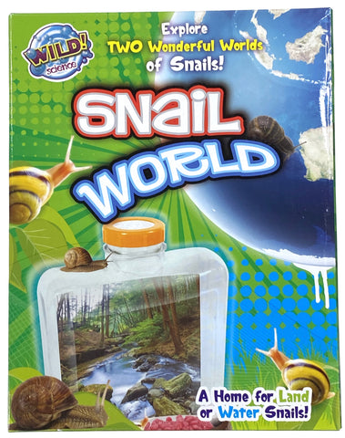 Snail World - A Home For Land or Water Snails!