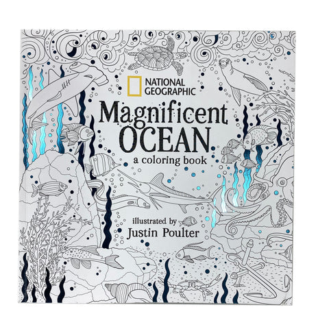 National Geographic Magnificent Ocean Coloring Book