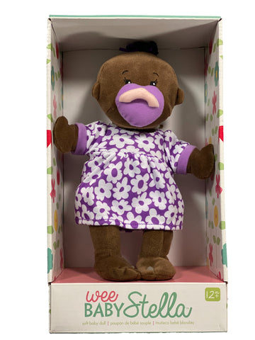Wee Baby Stella 10 inch Doll - Brown