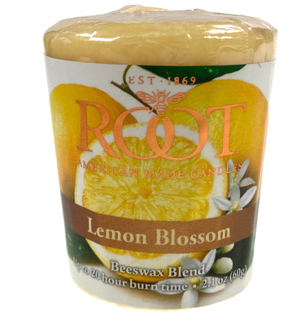 Root Candles 20 Hour Votive Lemon Blossom