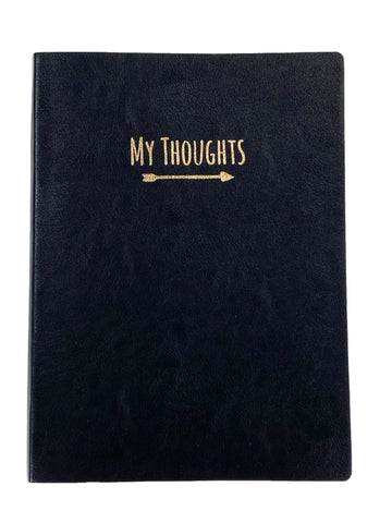 Journal - My Thoughts Black