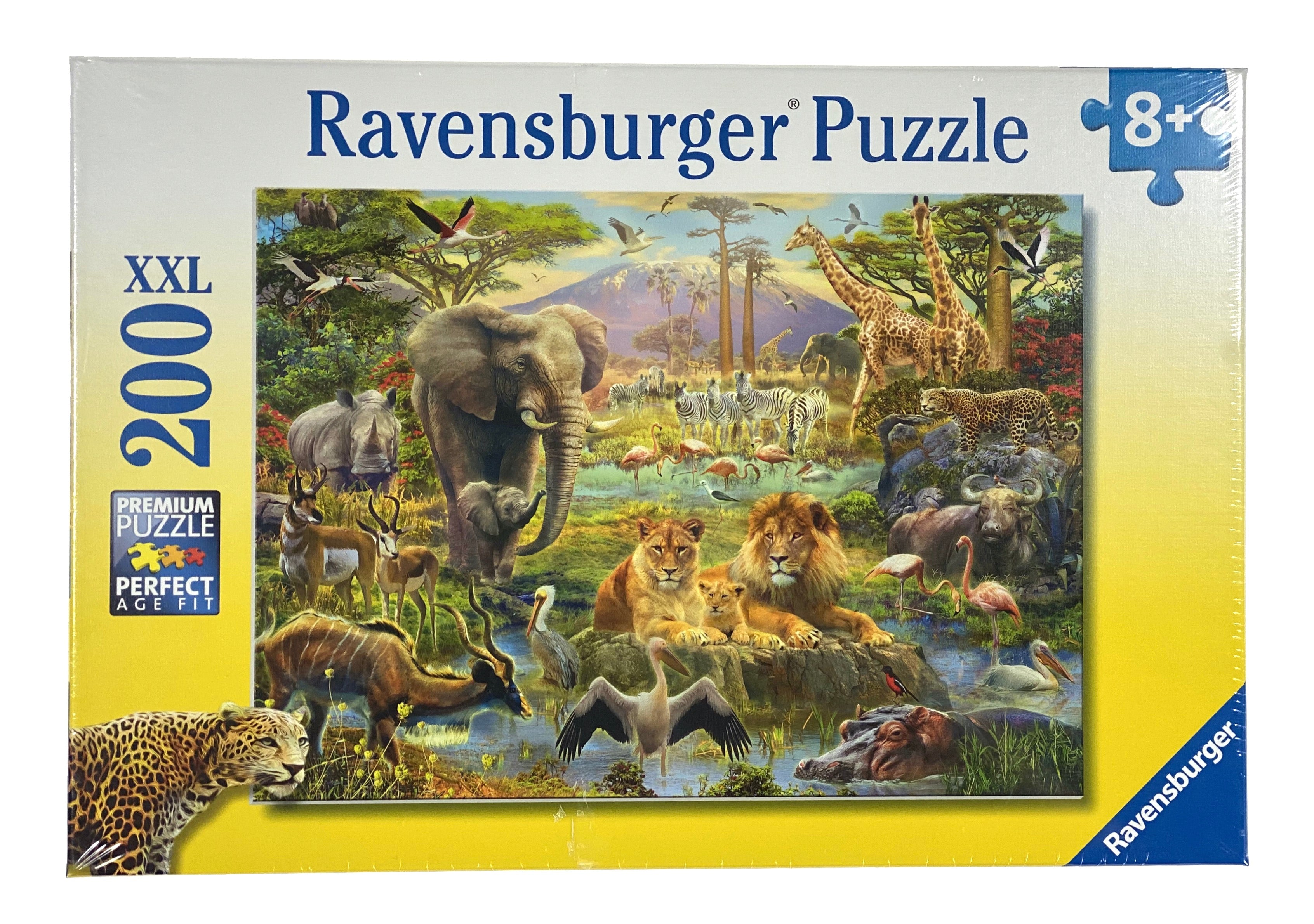 Animals Of The Savanna 200 Piece Puzzle