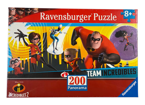 Incredibles 2 200 Piece Panorama Puzzle