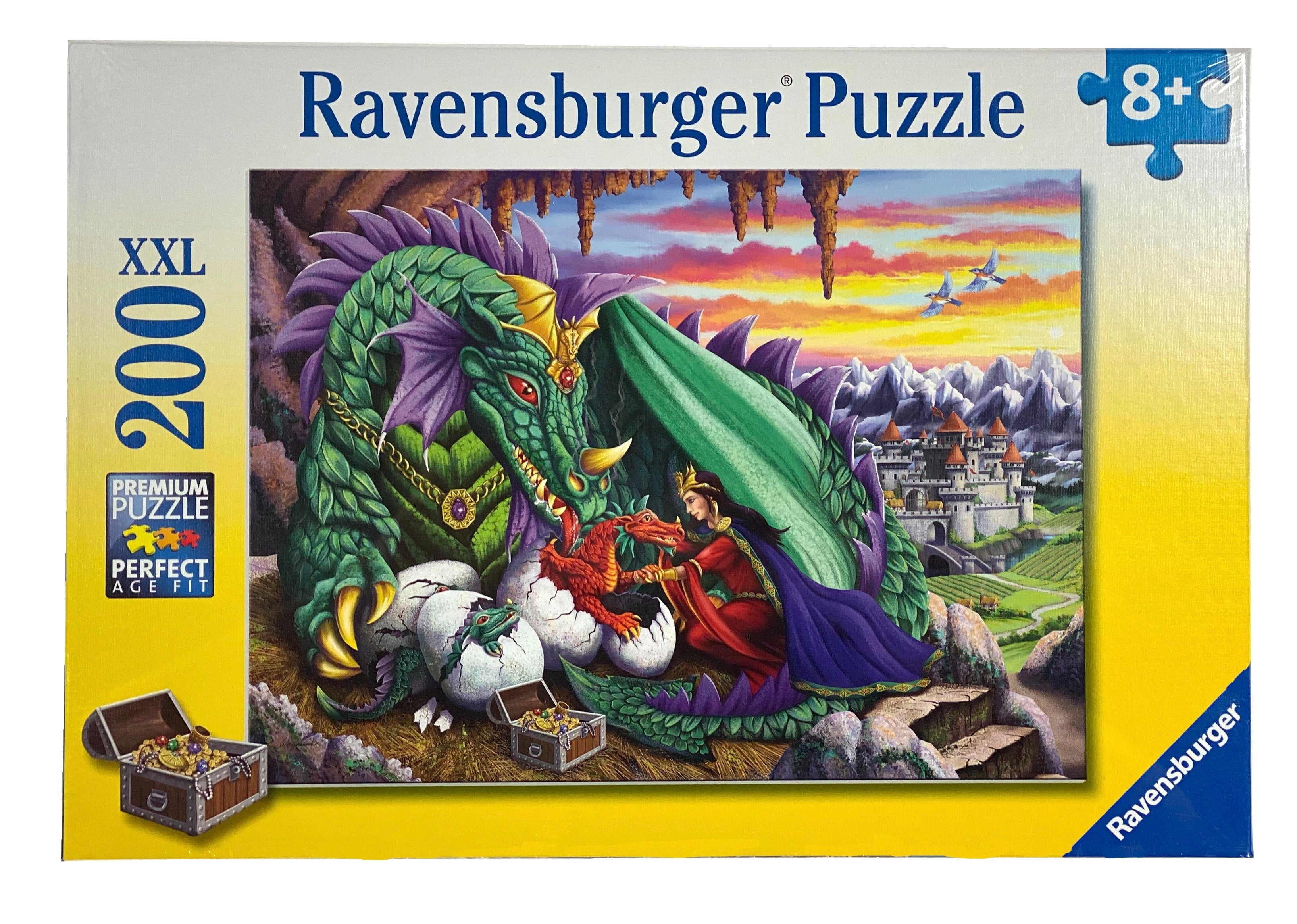 Queen Of Dragons 200 Piece Puzzle