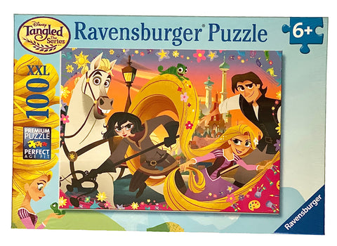 Disney Tangled Take On The World! 100 Piece Puzzle