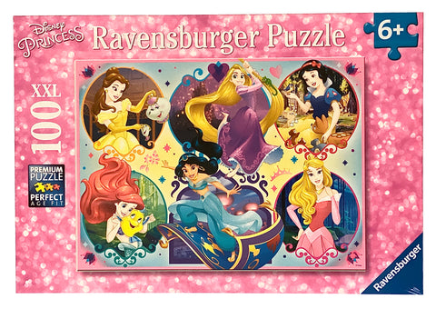 Disney Princess Be Strong Be You 100 Piece Puzzle