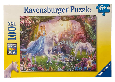 Magical Unicorn 100 Piece Puzzle