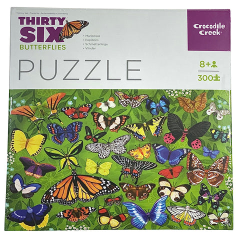 Thirty Six Butterflies 300 Piece Puzzle