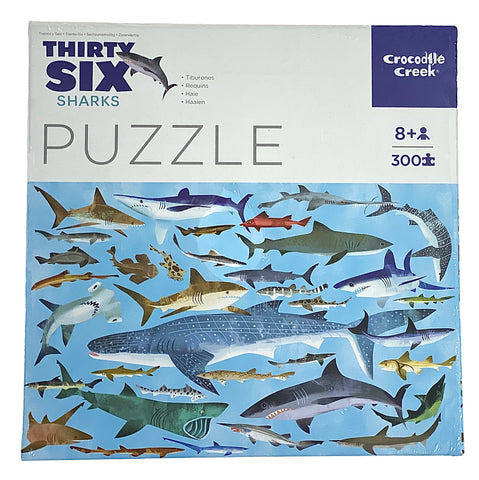 Thirty Six Sharks 300 Piece Puzzle