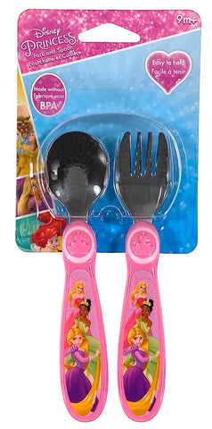 Disney Princess Fork And Spoon