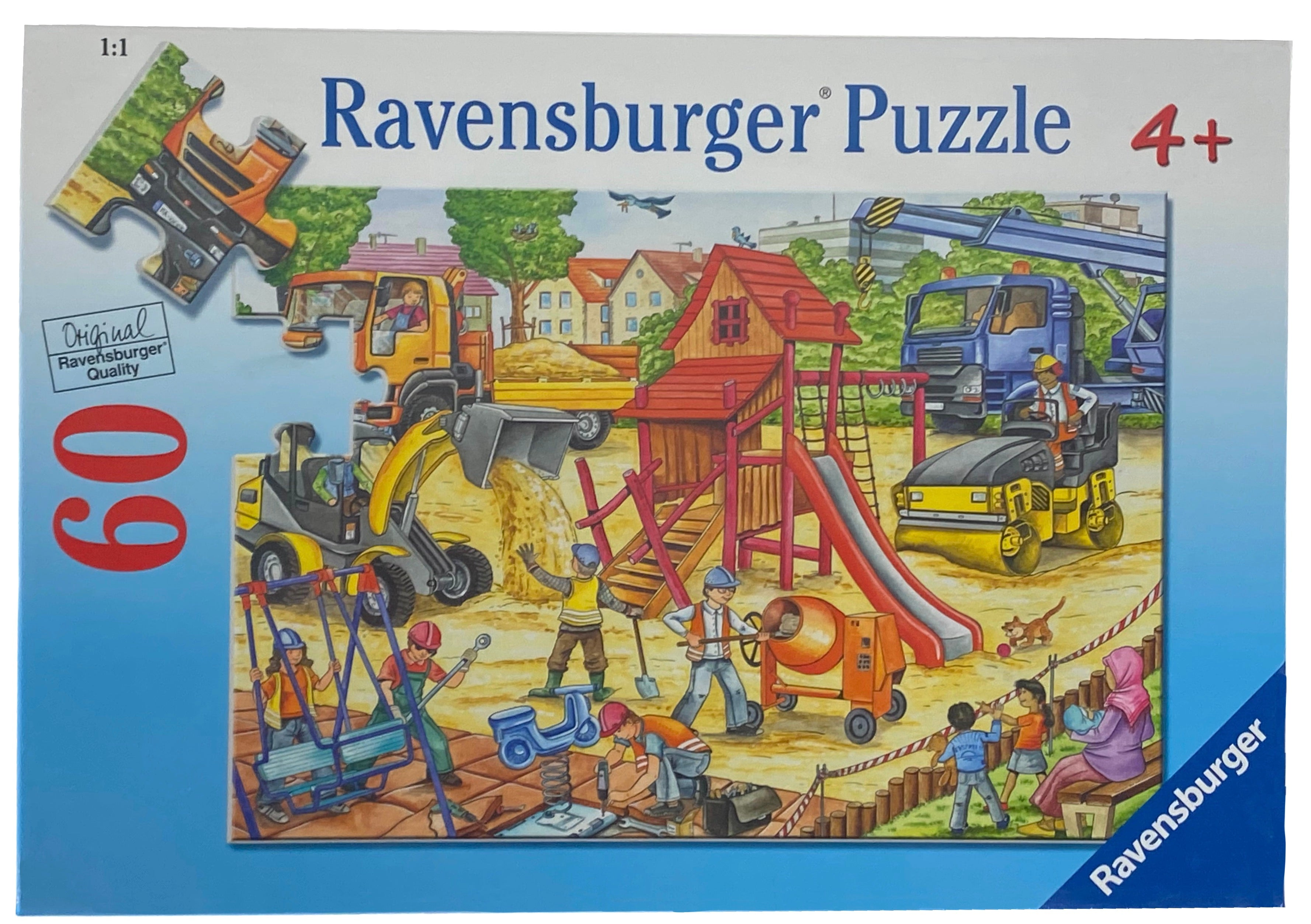 Building A Playground 60 Piece Puzzle