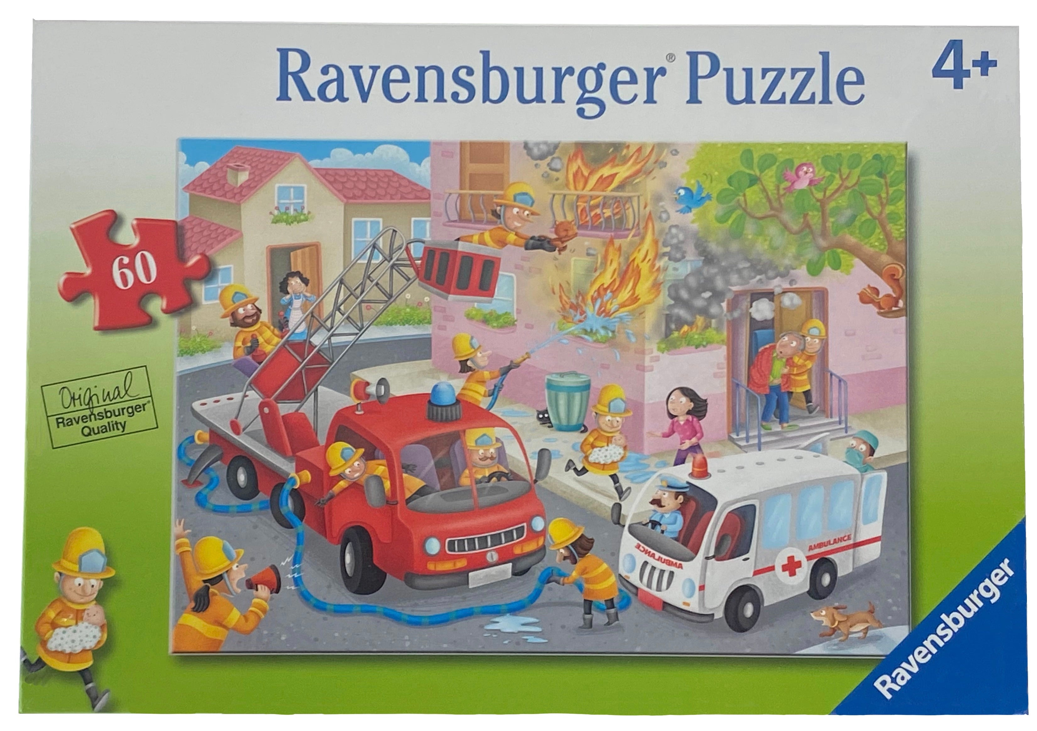 Firefighter Rescue 60 Piece Puzzle