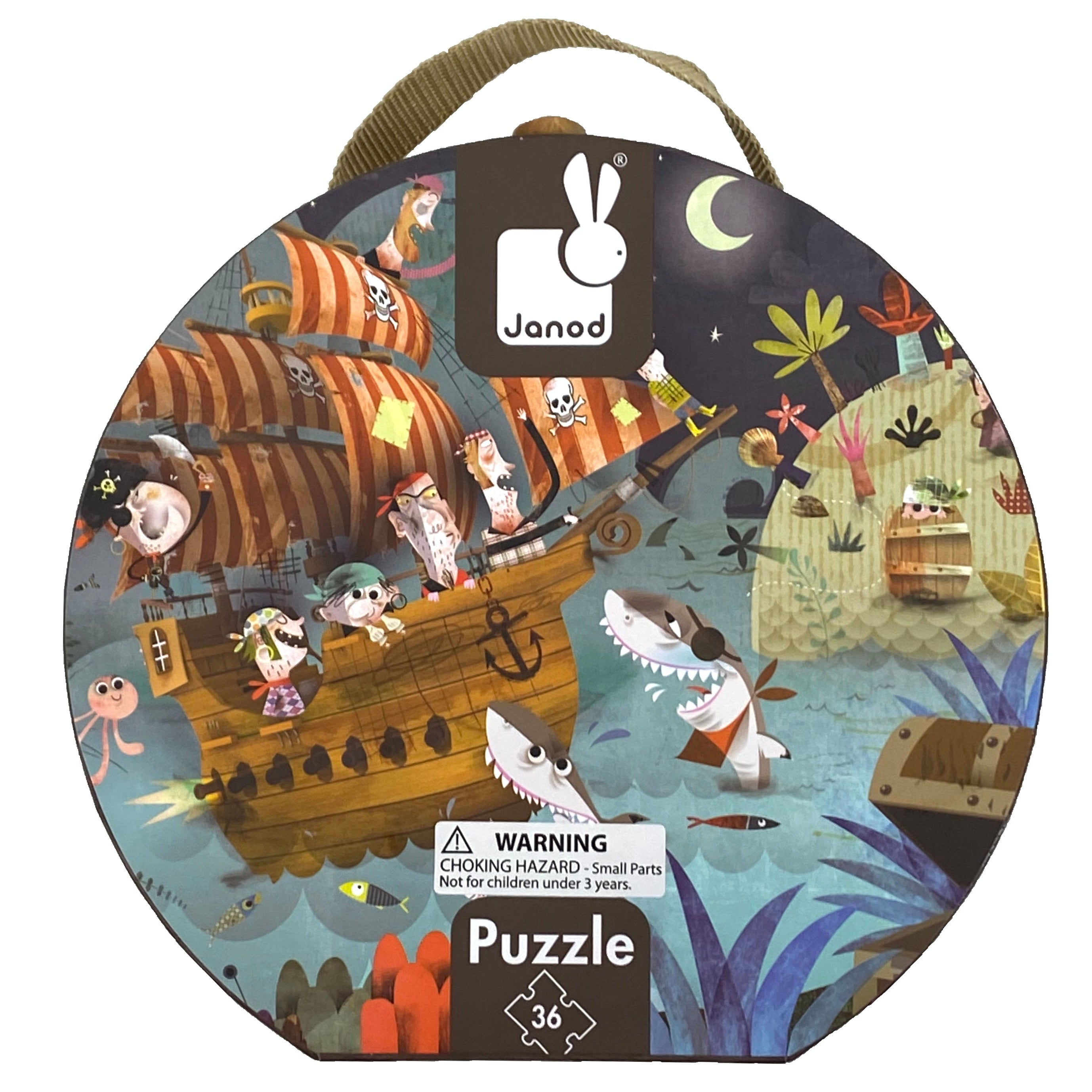 Treasure Hunt 36 Piece Puzzle