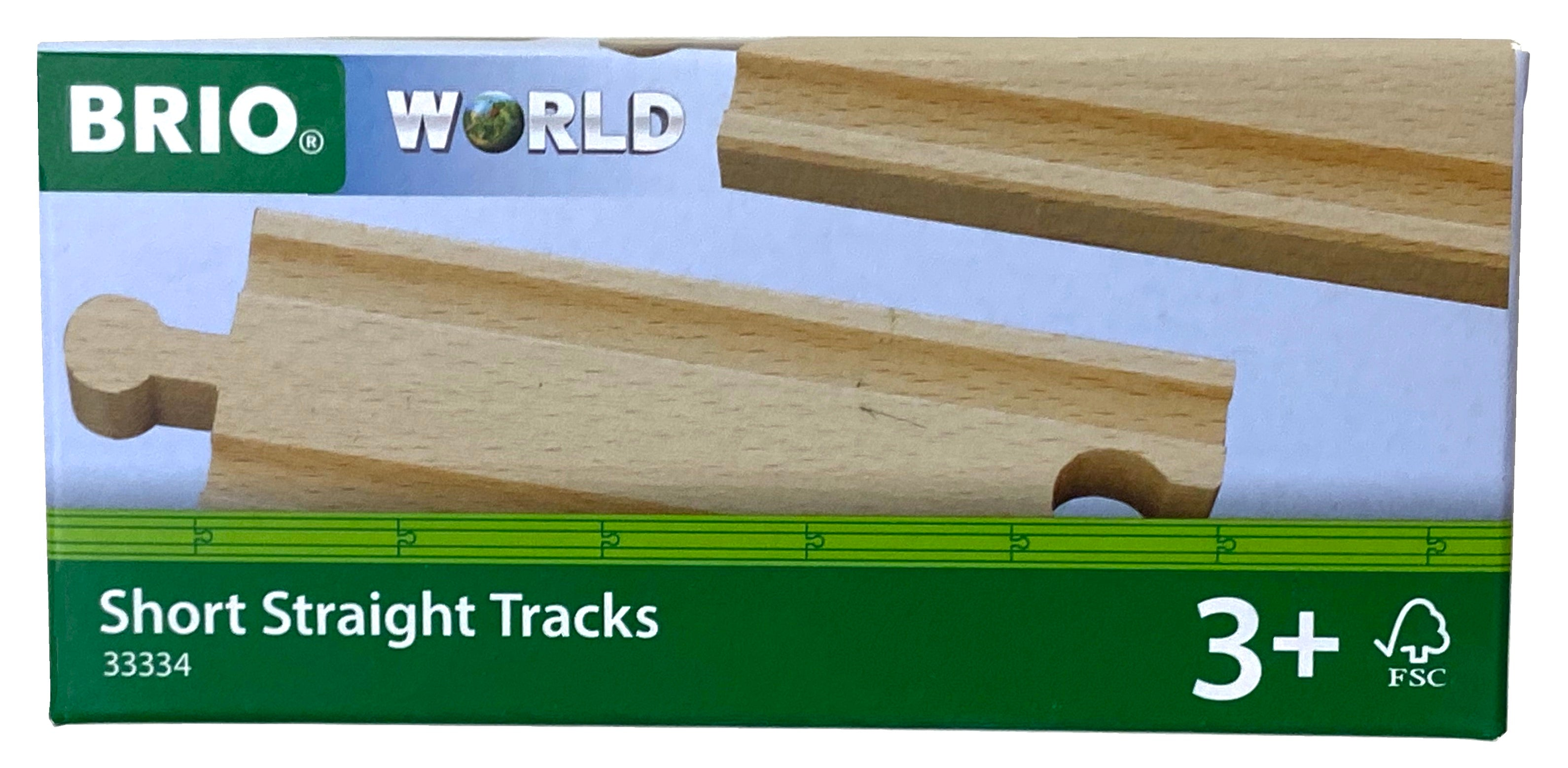 Brio Short Straight Tracks