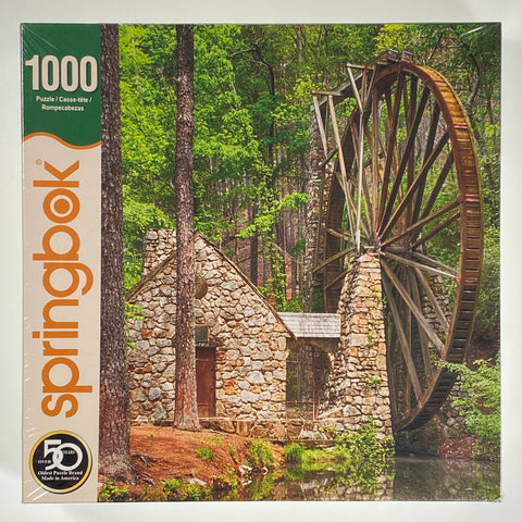 Water Wheel 1000 Piece Puzzle