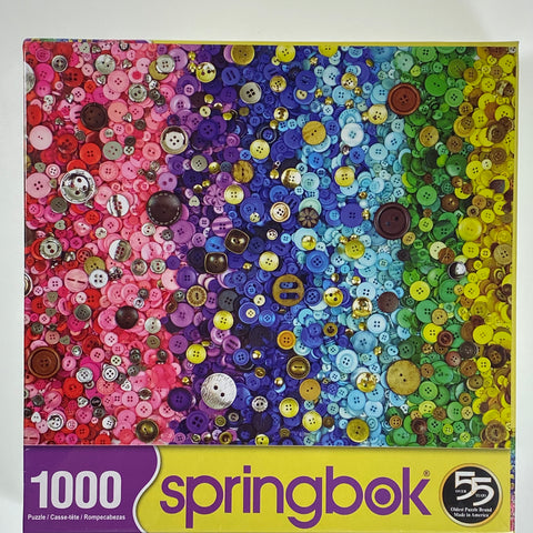 Bunches of Buttons 1000 Piece Puzzle